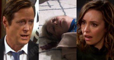 Days of our Lives Spoilers: Laura Horton (Jaime Lyn Bauer) - Jack Deveraux (Matthew Ashford) - Gwen Rizczech (Emily OBrien)
