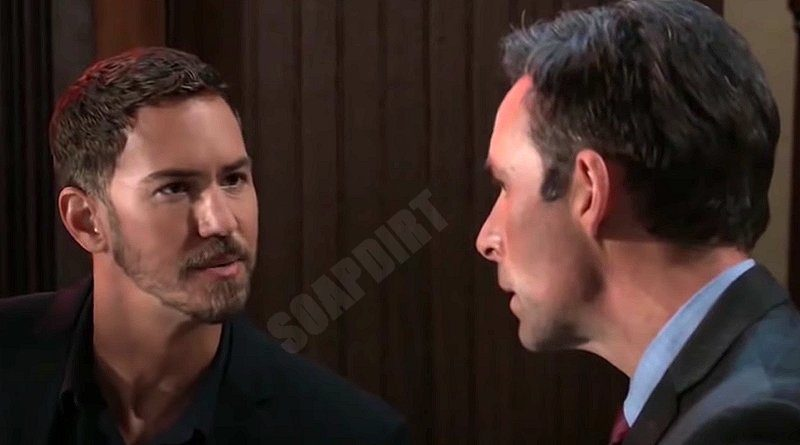 General Hospital Spoilers: Peter August (Wes Ramsey) - Valentin Cassadine (James Patrick Stuart)