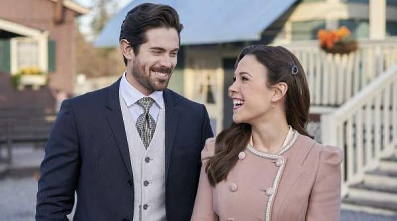 When Calls The Heart: Elizabeth Thornton - Erin Krakow - Lucas Bouchard - Chris McNally