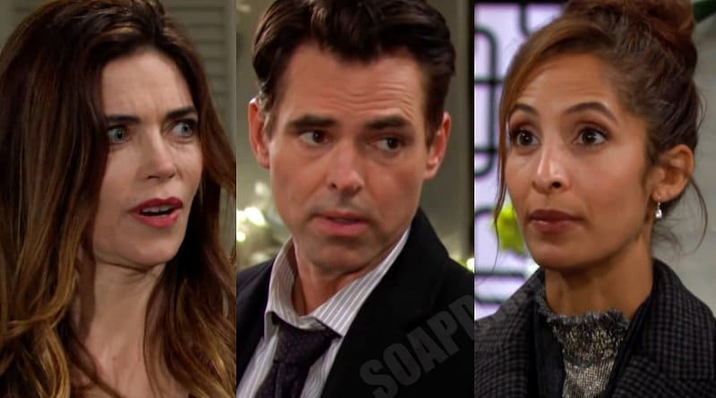 Young and the Restless Spoilers: Billy Abbott (Jason Thompson) - Victoria Newman (Amelia Heinle) - Lily Winters (Christel Khalil)