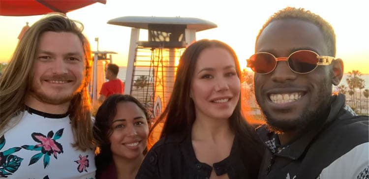 90 Day Fiance: Tania Maduro - Syngin Colchester - Blake Abelard - Jasmin Lahtinen