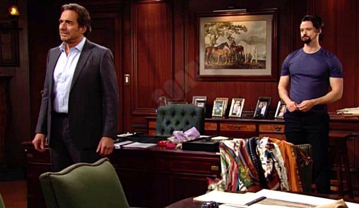Bold and the Beautiful Spoilers: Thomas Forrester ( Matthew Atkinson) - Ridge Forrester (Thorsten Kaye)