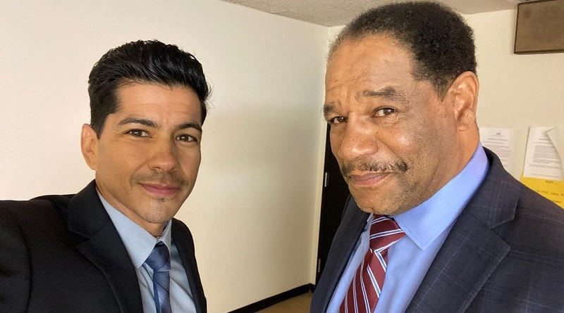 Bold and the Beautiful Spoilers: Detective Sanchez (Jimmy Ray Valdez) - Lt. Baker (Dan Martin)