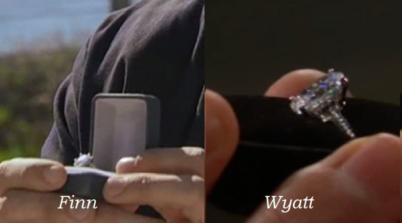 Bold and the Beautiful Spoilers: Finn Engagement Ring - Wyatt Engagement Ring