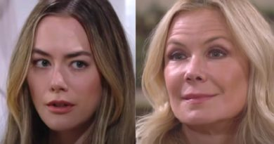Bold and the Beautiful Spoilers: Hope Logan (Annika Noelle) - Brooke Logan (Katherine Kelly Lang)