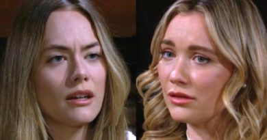 Bold and the Beautiful Spoilers: Hope Logan (Annika Noelle) - Flo Fulton (Katrina Bowden)