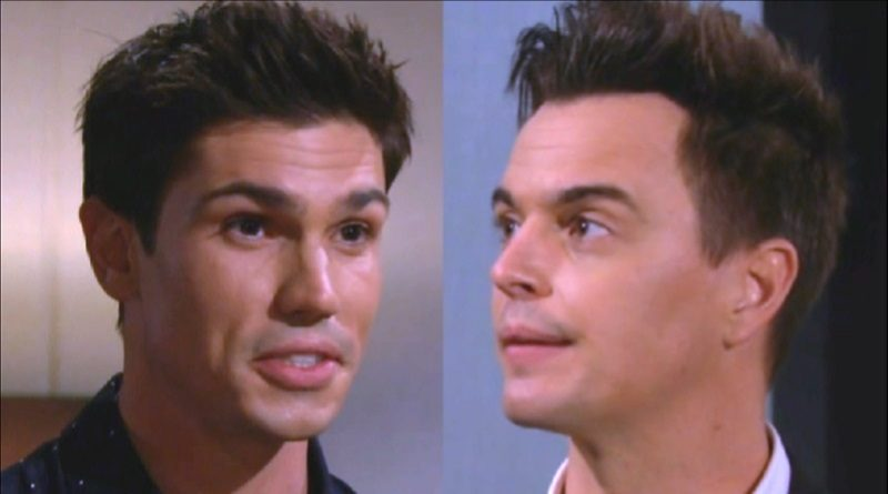 Bold and the Beautiful Spoilers: John Finn Fnnegan (Tanner Novlan) - Wyatt Spencer (Darin Brooks)