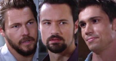 Bold and the Beautiful Spoilers: Liam Spencer (Scott Clifton) - John Finnegan - Finn (Tanner Novlan).- Thomas Forrester (Matthew Atkinson)