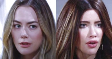 Bold and the Beautiful Spoilers - Steffy Forrester (Jacqueline MacInnes Wood) - Hope Logan (Annika Noelle)