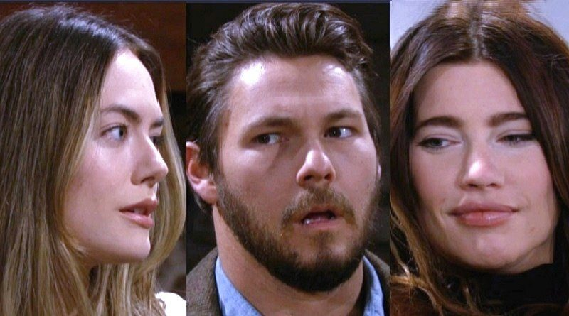 Bold and the Beautiful Spoilers: Steffy Forrester (Jacqueline MacInnes Wood) - Hope Logan (Annika Noelle) - Liam Spencer (Scott Clifton)