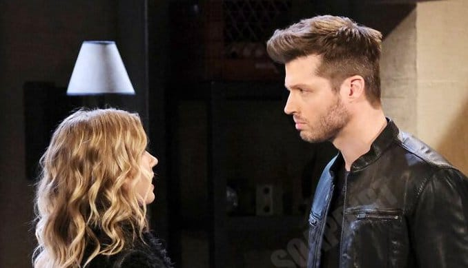 Days of Our Lives Spoilers: Evan Frears (Brock Kelly) - Claire Brady (Isabel Durant)