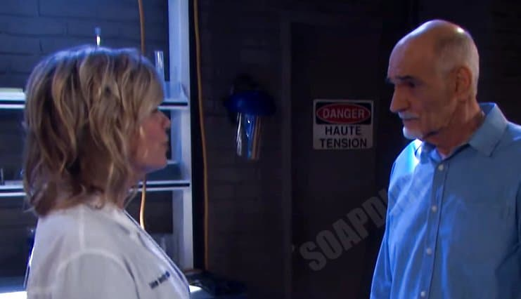 Days of our Lives Spoilers: Wilhelm Rolf (William Utay) - Dr Rolf - Kayla Brady (Mary Beth Evans)