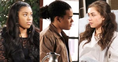 Days of our Lives Spoilers: Chanel Dupree (Precious Way) - Theo Carver (Cameron Johnson) - Ciara Brady (Victoria Konefal)