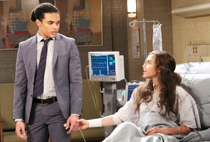 Days of our Lives Comings & Goings: Theo Carver (Cameron Johnson) - Ciara Brady (Victoria Konefal)