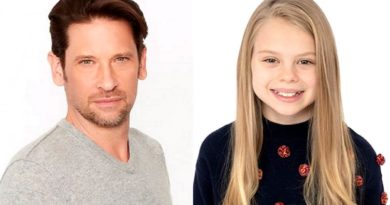 General Hospital Comings And Goings: Charlotte Cassadine (Scarlett Fernandez) - Franco Baldwin (Roger Howarth)