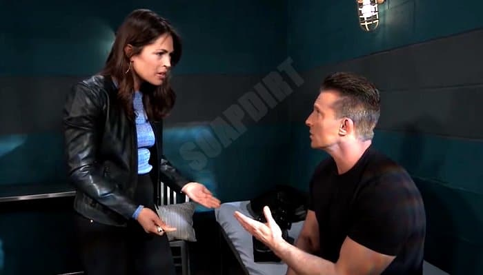 General Hospital Spoilers: Britt Westbourne (Kelly Thiebaud) - Jason Morgan (Steve Burton)