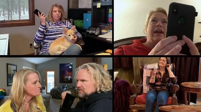 Sister Wives: Meri Brown - Janelle Brown - Christine Brown - Kody Brown - Robyn Brown
