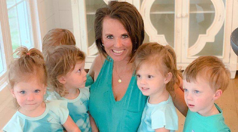 Sweet Home Sextuplets: Courtney Waldrop - Waldrop Children
