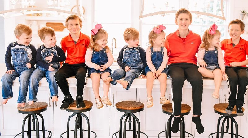 Sweet Home Sextuplets: Saylor Waldrop - Wells Waldrop - Bridge Waldrop