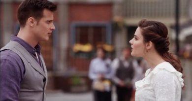 When Calls The Heart: Jesse Flynn (Aren Buchholz) - Clara Stanton (Eva Bourne)