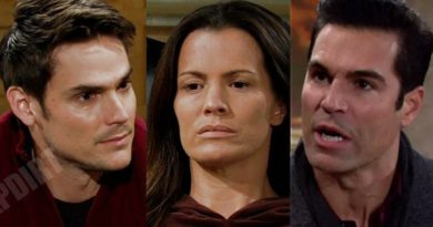 Young and the Restless Spoilers: Adam Newman (Mark Grossman) - Rey Rosales (Jordi Vilasuso) - Chelsea Newman (Melissa Claire Egan)