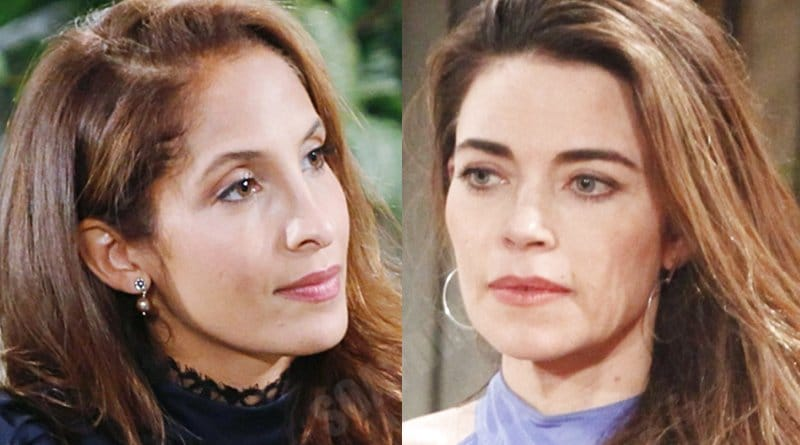 Young and the Restless Spoilers: Lily Winters (Christel Khalil) - Victoria Newman (Amelia Heinle)