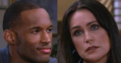 Bold and the Beautiful: Carter Walker (Lawrence Saint-Victor) - Quinn Fuller (Rena Sofer)