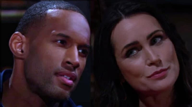 Bold and the Beautiful Spoilers: Carter Walker (Lawrence Saint-Victor) - Quinn Fuller (Rena Sofer)