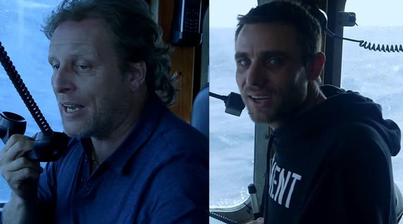 Deadliest Catch: Sig Hansen and Jake Anderson