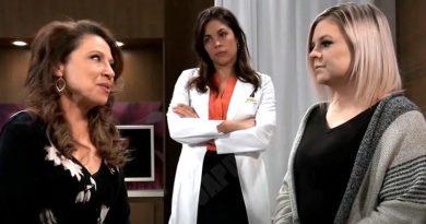 General Hospital Spoilers: Liesl Obrecht (Kathleen Gati) - Maxie Jones (Kirsten Storms) - Britt Westbourne (Kelly Thiebaud)