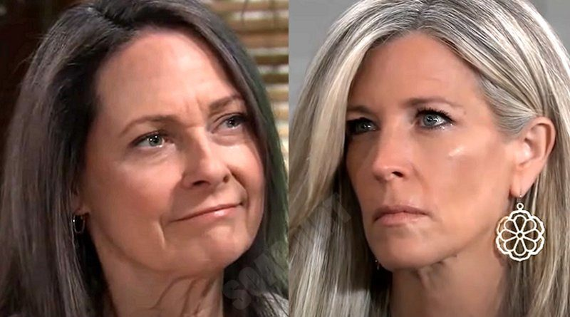 General Hospital Spoilers: Carly Corinthos (Laura Wright) - Gladys Corbin (Bonnie Burroughs)
