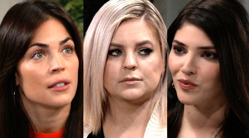 General Hospital Spoilers: Maxie Jones (Kirsten Storms) - Britt Westbourne (Kelly Thiebaud) - Brook Lynn Quartermaine (Amanda Setton)