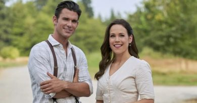 When Calls The Heart: Elizabeth Thornton (Erin Krakow) - Nathan Grant (Kevin McGarry)