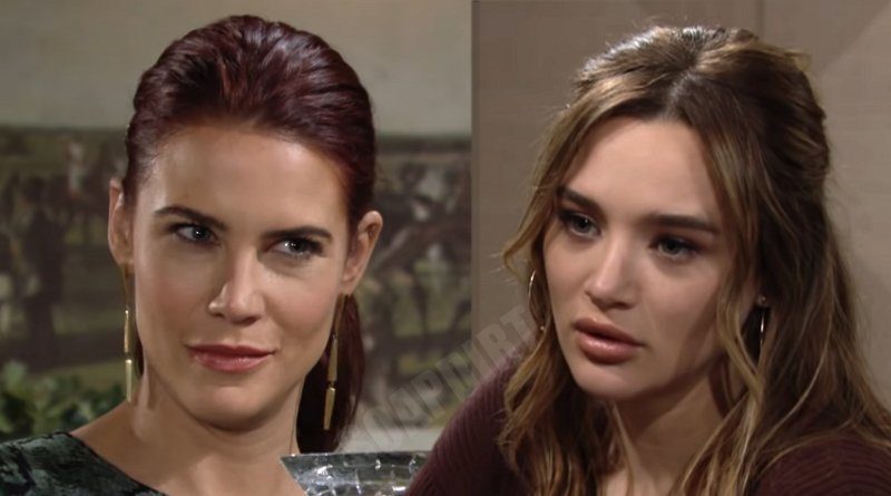 Young and the Restless Spoilers: Summer Newman (Hunter King) - Sally Spectra (Courtney Hope)