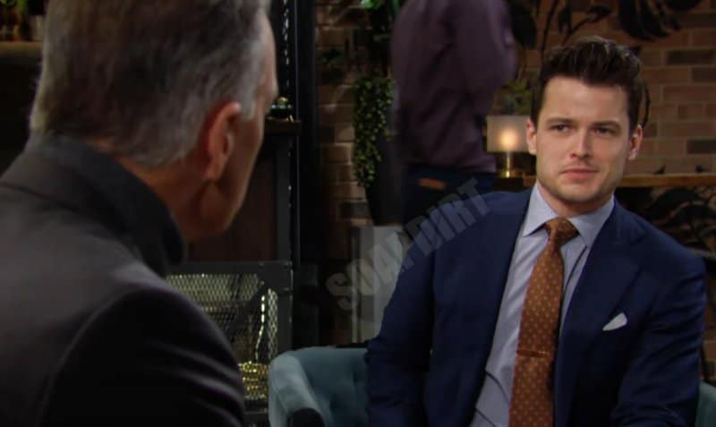 Young and the Restless Spoilers: Kyle Abbott (Michael Mealor) - Ashland Locke (Richard Burgi)