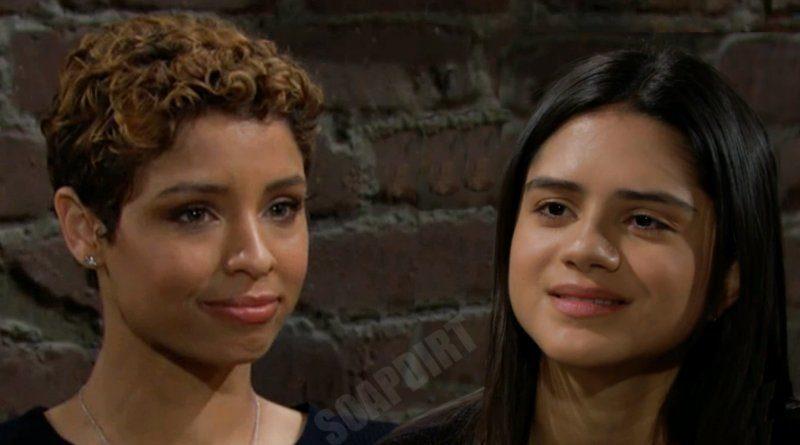 Young And The Restless LEAK: Elena Dawson (Brytni Sarpy) - Lola Rosales (Sasha Calle)