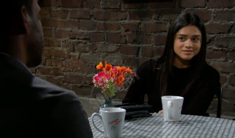 Young And The Restless LEAK: Nate Hastings (Sean Dominic) - Lola Rosales (Sasha Calle)