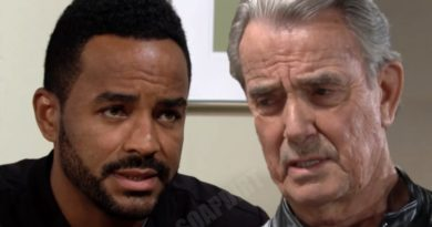Young and the Restless Spoilers: Victor Newman (Eric Braeden) - Nate Hastings (Sean Dominic)