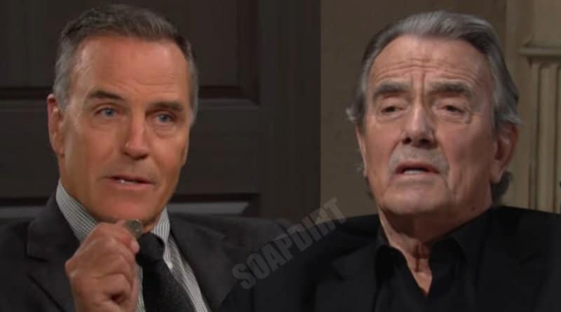 Young and the Restless Spoilers: Victor Newman (Eric Braeden) - Ashland Locke (Richard Burgi)