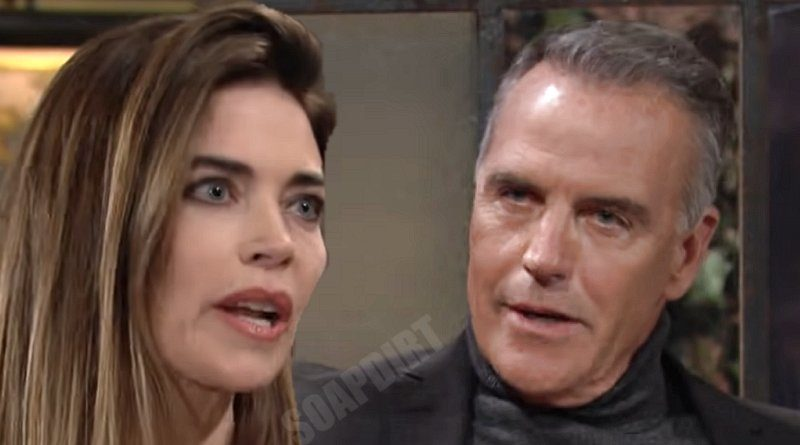 Young and the Restless Spoilers: Victoria Newman (Amelia Heinle) - Ashland Locke (Richard Burgi)