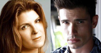 Bold and the Beautiful Spoilers: Sheila Carter (Kimberlin Brown} - John Finnegan - Finn (Tanner Novlan)