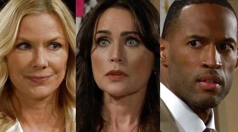Bold and the Beautiful Spoilers: Brooke Logan (Katherine Kelly Lang) - Quinn Fuller (Rena Sofer) - Carter Walton (Lawrence Saint-Victor)