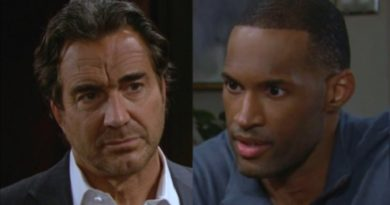 Bold and the Beautiful Spoilers: Carter Walker (Lawrence Saint-Victor) - Ridge Forrester (Thorsten Kaye)