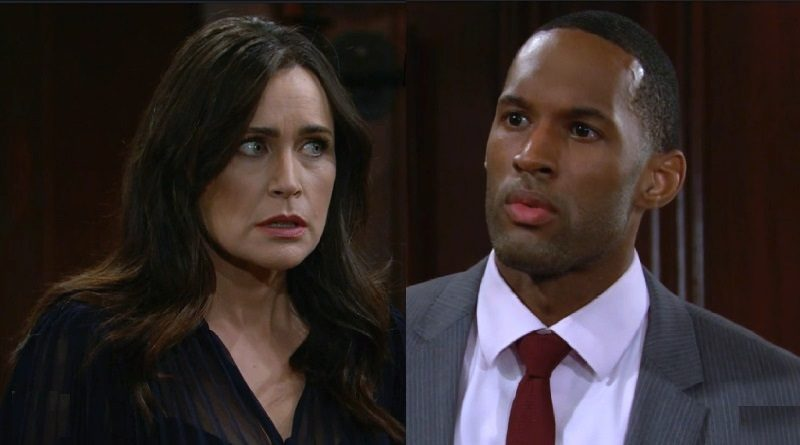 Bold and the Beautiful Spoilers: Carter Walton (Lawrence Saint-Victor) - Quinn Fuller (Rena Sofer)