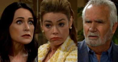 Bold and the Beautiful Spoilers: Quinn Fuller (Rena Sofer) - Shauna Fulton (Denise Richards) - Eric Forrester (John McCook)