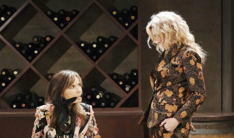 Days of Our Lives Spoilers: Kate Roberts (Lauren Koslow)- Kristen DiMera (Stacy Haiduk)