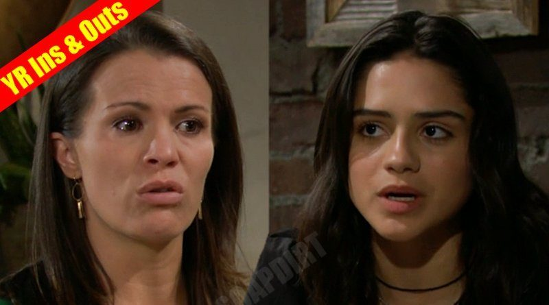 Young and the Restless Comings and Goings: Chelsea Newman (Melissa Claire Egan) - Lola Rosales (Sasha Calle)