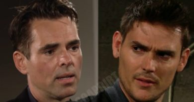 Young and the Restless Spoilers: Billy Abbott (Jason Thompson) - Adam Newman (Mark Grossman)