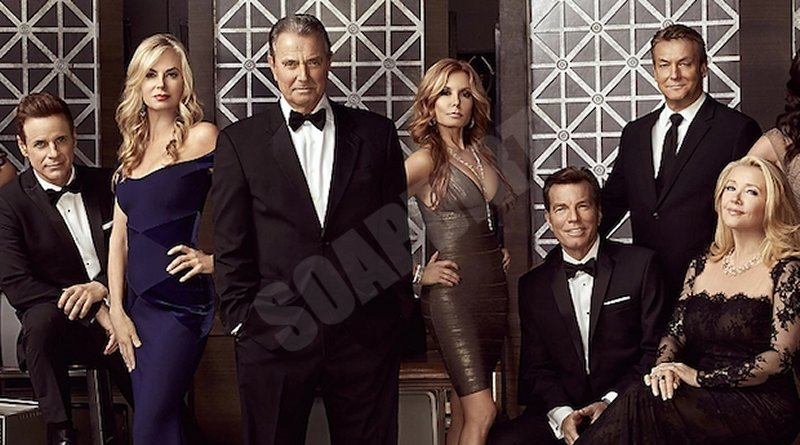 Young and the Restless cast: Victor Newman - Nikki Newman - Paul Williams- Michael Baldwin - Lauren Fenmore - Jack Abbott